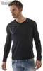 destockage de t-shirts guess manches longues homme a prix discount - Photo 2