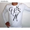 destockage de t-shirts guess manches longues homme a prix discount - Photo 3
