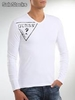 destockage de t-shirts guess manches longues homme a prix discount - Photo 4