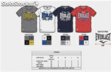 Destockage tee shirt everlast homme