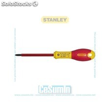 Destornillador aislado vde 1000v fatmax phillips ph0 x 75 mm - STANLEY