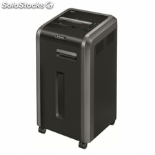 Destructora fellowes 225ci - corte en particulas 4x38mm -