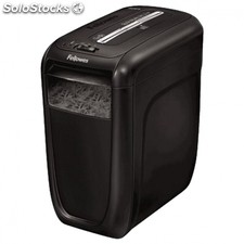 Destructora fellowes 60CS - corte en particulas hasta 10 hojas - papelera 22