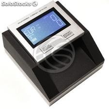 Detector de billetes falsos con totalizador LCD multi-divisa (MM37)