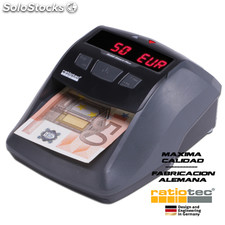 Detector de billetes falsos. Modelo Soldi Smart Plus. Marca Ratiotec