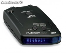 Detector de radares Escort Passport 8500 X50 INTL Black