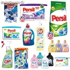 Détergents persil, silan, perwoll, pur, bref, clin - du neuf