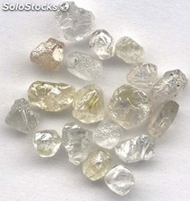 Diamantes disponibles ahora / rough uncut diamond blanco / fancy colored