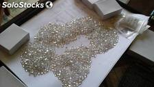 Diamantes sin cortar Disponible para un ttm, la