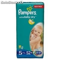 Diapers pampers Active Baby, Junior, Nr. 5, 11-18kg, gp 68pcs