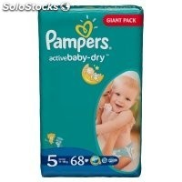 Diapers pampers Active Baby, vp+ Junior 52pcs