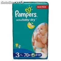 Diapers pampers Active Baby, vp+ Maxi 62pcs