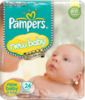 Diapers pampers New Baby, Active Baby Mini, Nr. 2 ,3-6 kg, gp, 108 pcs