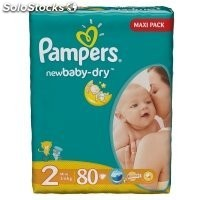 Diapers pampers New Baby, vp+ Mini 80pcs