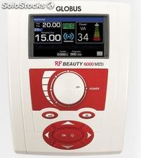 Diatermia rf beauty 6000 med recargable con 32 programas multifrecuencia para re