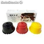 ✅ dicup - cpsulas recargables compatibles dolce gusto