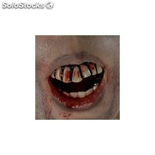 Dientes zombie the walking dead