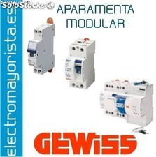 Dif.sd 2P 40A instant.a/0,03+rdpro 4M gewiss Referencia: GW94827P