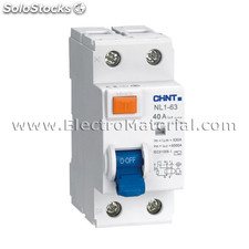 Diferencial 2 polos x 40 a x 30 ma | chint
