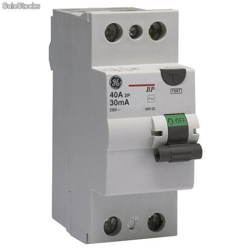 Diferencial 2p 40a 30ma general electric 607106 for Diferencial general electric