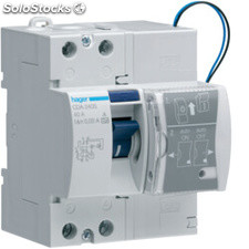 Diferencial auto-rearmable 2P 40A 30MA HAGER