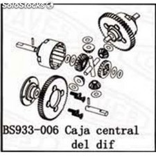 Diferencial central BSD Racing