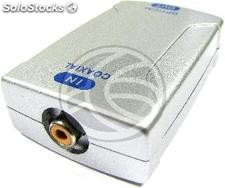 Digital audio converter (Coaxial to Toslink) (VD41)