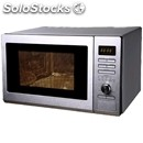 Digital microwave oven - stainless steel - mod. mwo-rg - rotating plate - auto