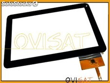 Digitalizador negro, Pantalla Tactil para Tablet Woxter PC 101 CXI, Szenio PC