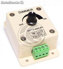 Dimmer for LED strip 8A monochrome analog (VF74)