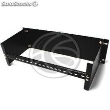 """DIN rail adapter without hole 3U rack enclosure 19 \""""of RackMatic (RZ71-0003)"""