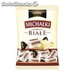 Dipped candies Michalki white (candy,bag) 1000g