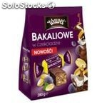 Dipped candies Nuts and dried fruits in chocolate 280g