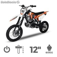 Dirt Bike NRG GTS 14/12 de 49cc.| Pitbike | Minimoto Cross