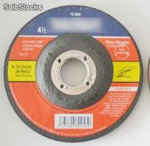 "Disco Abrasive Type 27 4 1/2"" Abrasive Wheel (115mmX6mmX22mm)"