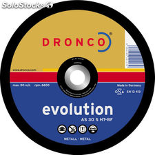 Disco acero dronco 125X3X22,2 evolution