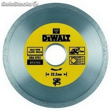Disco de diamante 125mm corte de ceramicas - DEWALT - Ref: DT3713-QZ