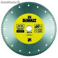 Disco de diamante turbo 230mm corte en materiales duros - DEWALT - Re