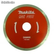 Disco Diamantado Liso D08800 CX com 1 Unidades Makita