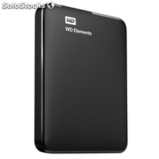 Disco duro externo 1 tb Western Digital elements usb 3.0 negro