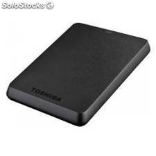 Disco duro externo hdd toshiba 1tb 1000gb canvio basic 2.5 usb 3.0, negro mate