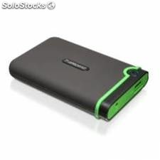 Disco duro externo hdd transcend ts500gs-j25m3 500gb/ 2.5 usb 2.0 y 3.0/ 5400rpm