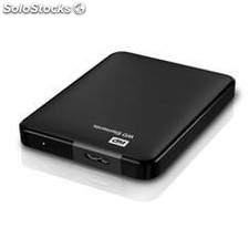 Disco duro externo hdd wd 750 gb elements 2.5, usb 3.0, negro