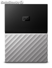 Disco duro externo hdd wd hdd ext my pass ultra 2tb black grey