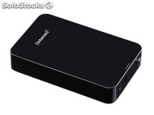"Disco duro externo intenso hd ext USB3.0 3.5"" 4TB intenso memory center negro"