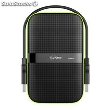 "Disco Duro Externo Silicon Power 2.5"" USB 3.0 3 TB Waterproof Negro"