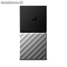 Disco duro externo ssd wd ssd my passport 1tb silver worldwide