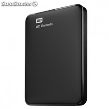 "Disco duro externo western digital elements portable - 2TB - 2.5""/6.35CM - usb"