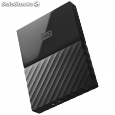 Disco duro externo western digital my passport worldwide negro - 1TB -