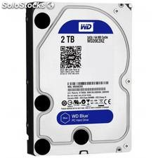 Disco duro interno hdd wd western digital blue 2 t
